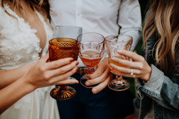 micro wedding cheers