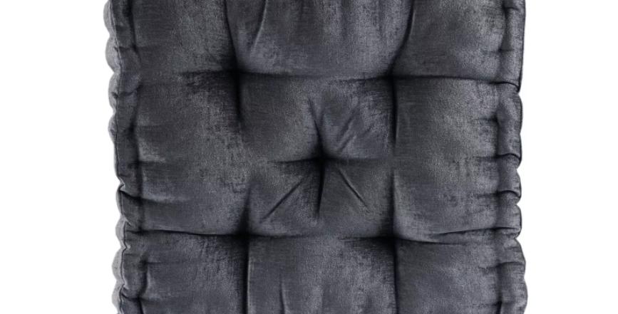 Charcoal Floor Pillow