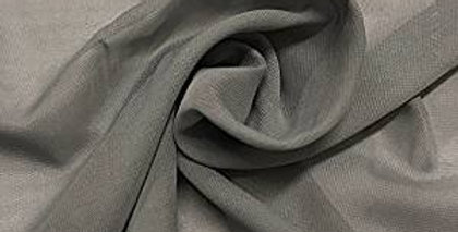 Chiffon Fabric, Sheer Gray