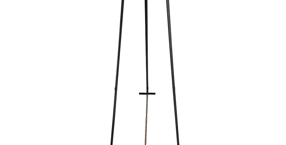 Black Metal Easel, Large