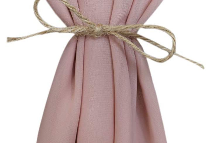 Chiffon Table Runner, Dusty Rose