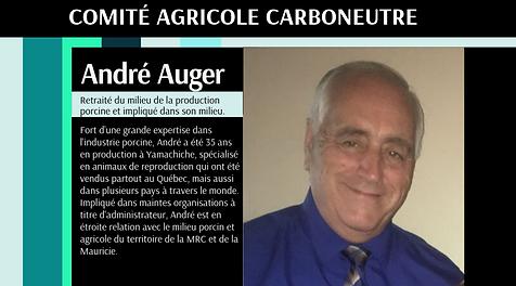 Carboneutralité Comité agricole André Auger