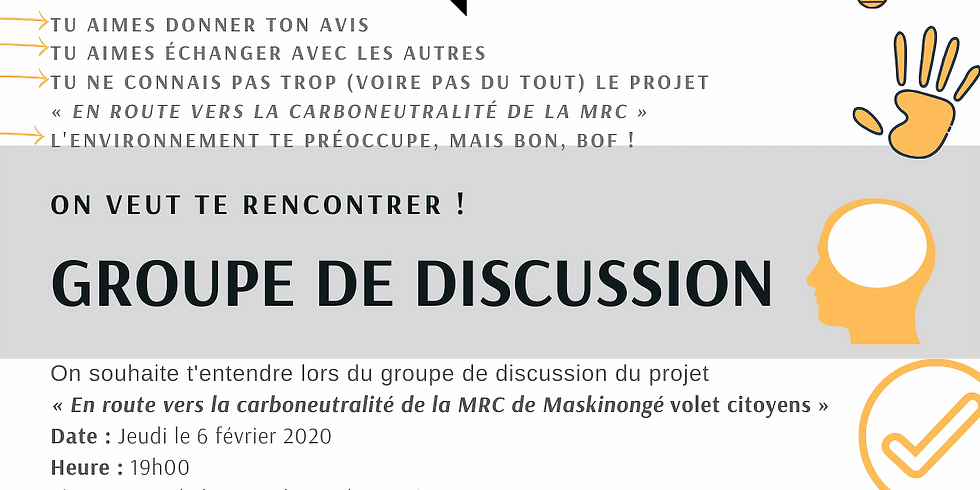 Groupe de discussion (focus group)
