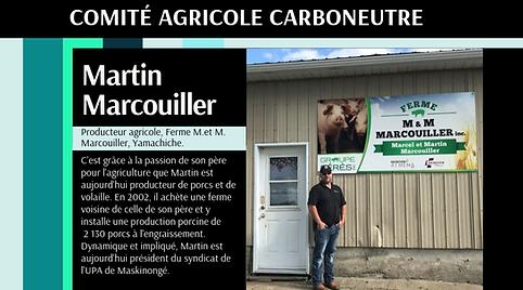 Carboneutralité Comité agricole Martin Marcouiller