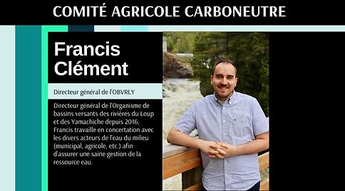 Carboneutralité Comité citoyen Francis Clément