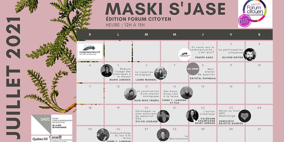 Maski s'jase en mode virtuel