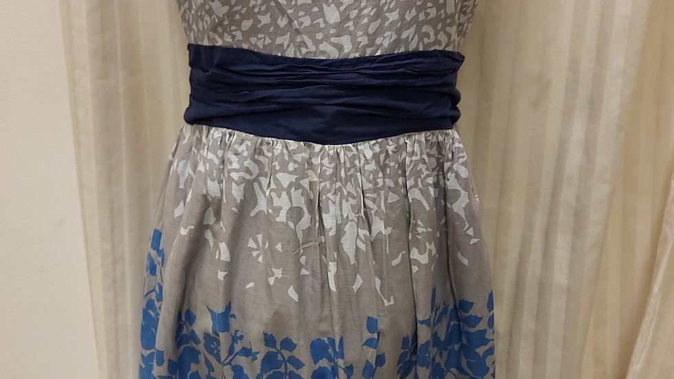 Blooming Marvellous strapless dress size 10