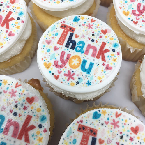Thank You Cupcakes 12pc