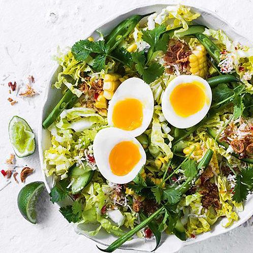 Asian Egg & Green Bean Salad