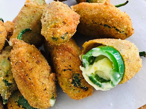 Crumbed Jalapeno Poppers 12pcs
