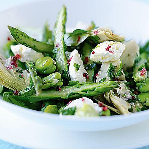 Ricotta, Asparagus & Broad Bean Salad