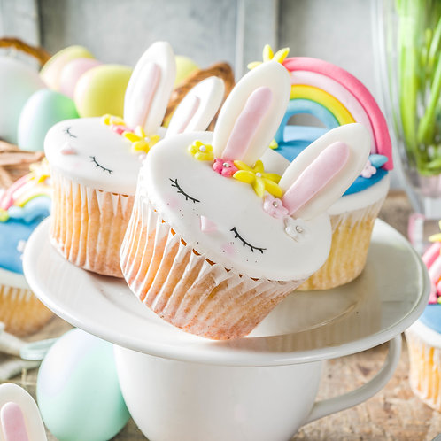 Easter Bunny Cupcakes Box 12