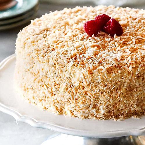 Raspberry & Coconut Cake 30cm