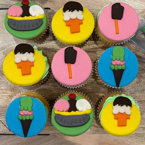 Icecream Shop Cupcakes
