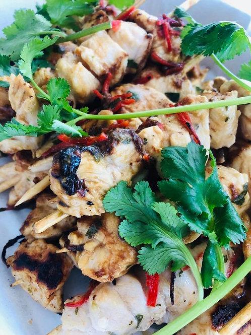 Marinated chicken skewer 12pcs