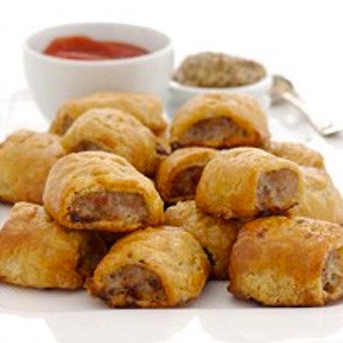 Petit Beef & Vegetable Sausage Rolls 12pcs