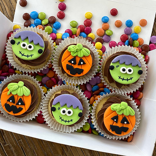 Halloween Cupcake Lolly Box