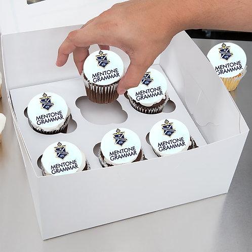 6 Cupcake Pack - Graduation Box