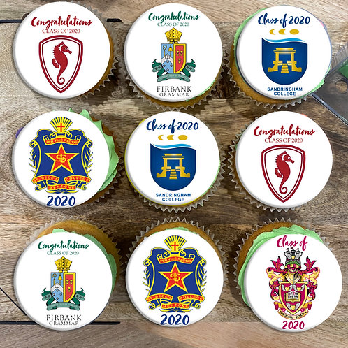 Graduation Cupcakes 2021 12pc