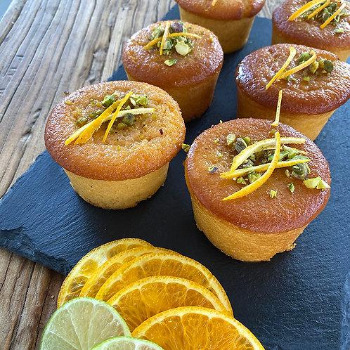 Orange & Lime Cake GF 6pc