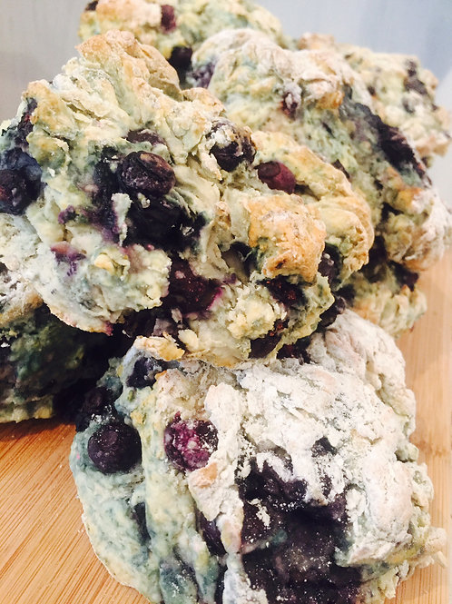 Jumbo Blueberry Scone