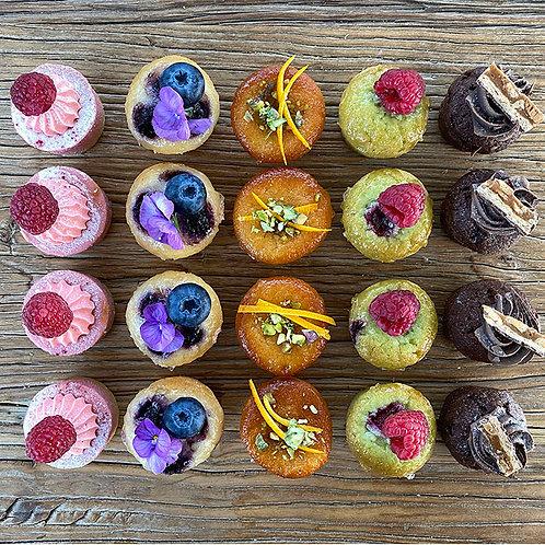 Petit Cakes Platter GF 20 pcs