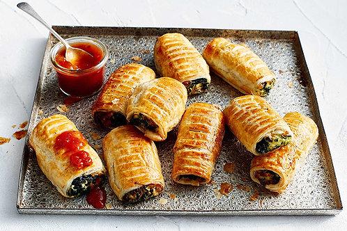 Petit Ricotta & Spinach Rolls 12pcs