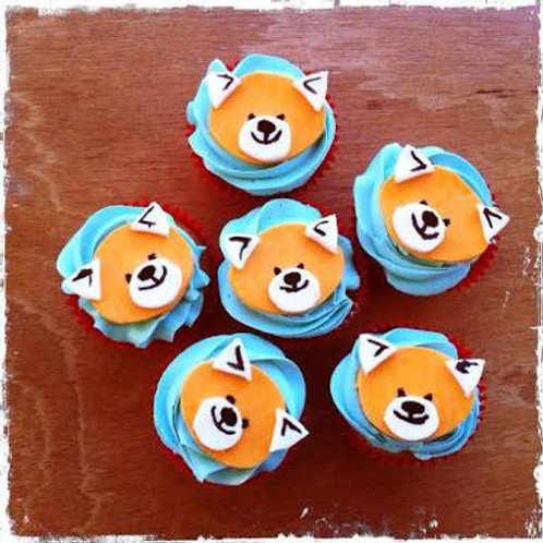 Fox Cupcakes