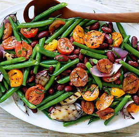 chargrilled-tomato-bean-salad-with-spicy