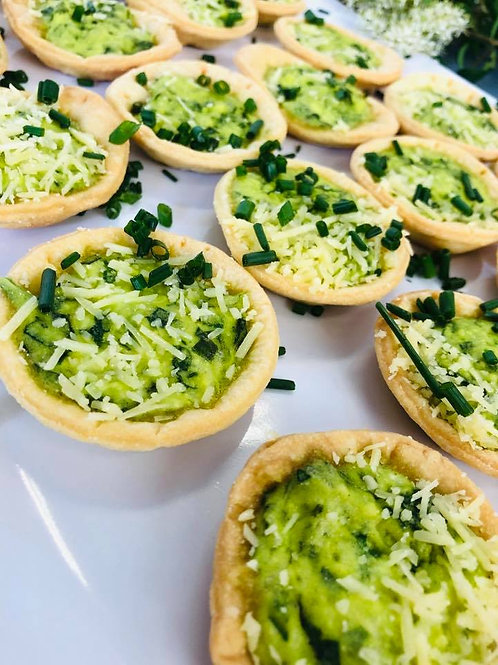 Petit Quiche Spinach & Cheese 12pcs
