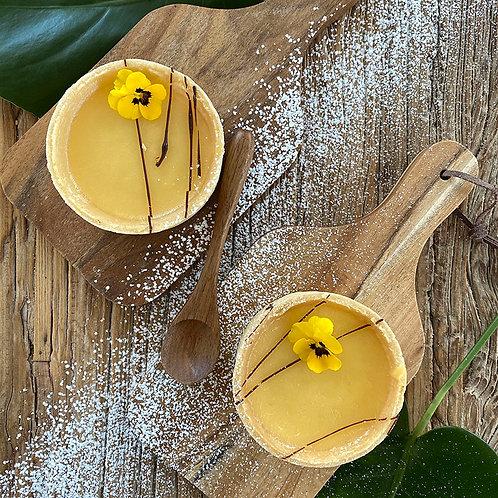 Lemon Curd Tart 2pc