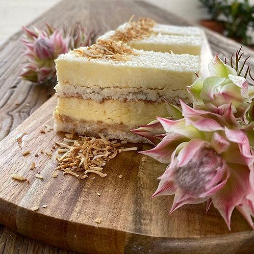 White Mousse Cake 6pc