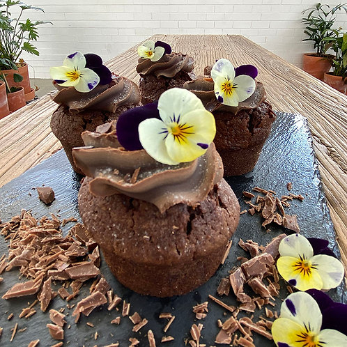 Chocolate Ganache Cake GF 6pc