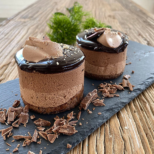 Chocolate Mousse Cake 6pc