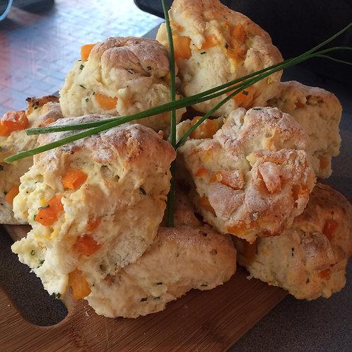Petit Pumpkin & Fetta Scones 12pcs