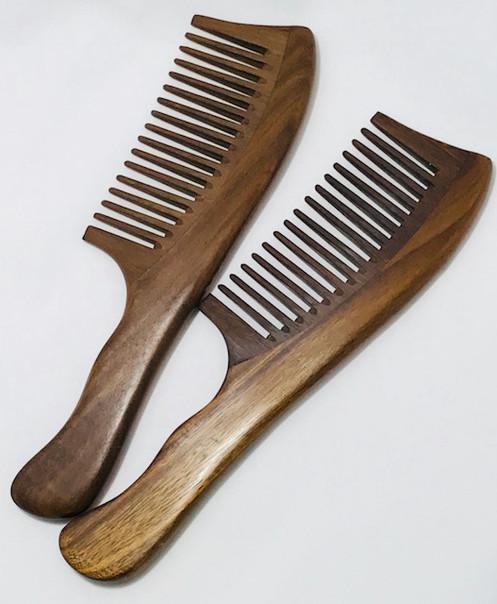 Wooden Natural Sandalwood / Peach Wood Comb