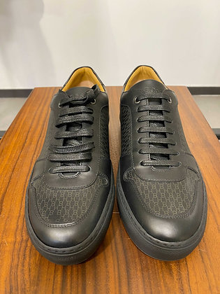 BOSS Mirage Tenn Leather Trainers