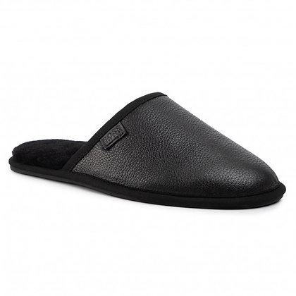 BOSS Leather Slipper