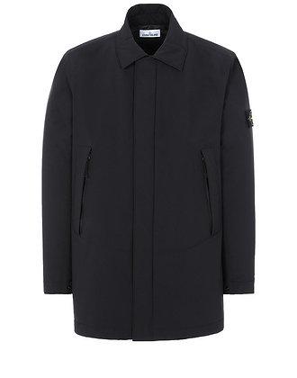 STONE ISLAND Mid Length Jacket - Black