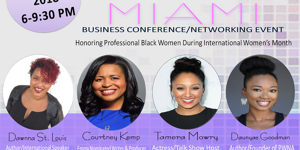 Black Queen's of Miami Conference