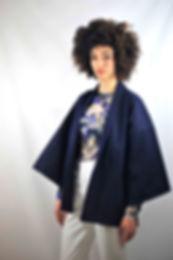 Kimono denim upcyclé
