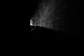 Túnel viaduto 13 - Ferrovia do trigo, Muçum, RS, 2016.