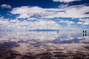 Salar de Uyuni, Bolívia.