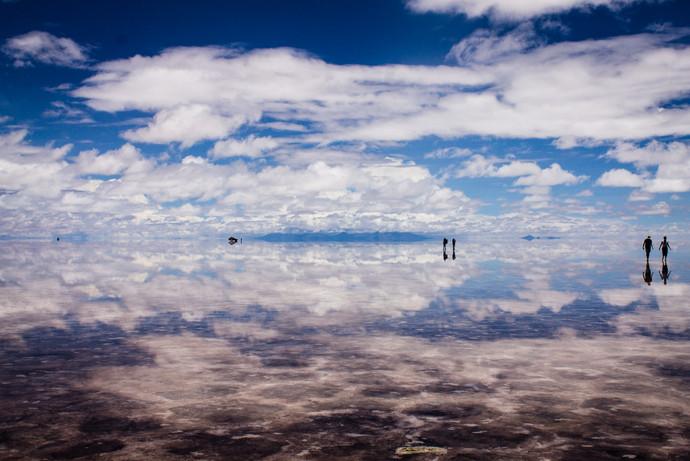 Salar de Uyuni, Bolívia, 2014.