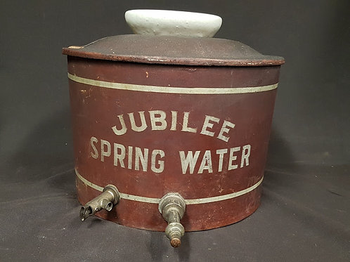 Antique Cordley Hayes Water Cooler made for Jubliee Spring Water - 20th Century