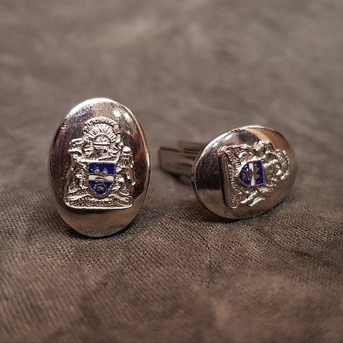 Sterling Silver Cufflinks from Alberta Canada