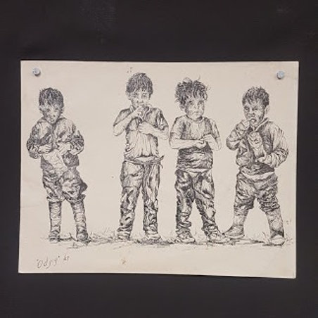 "Daphne Odjig ""Series of the North - The Boys"" Print"
