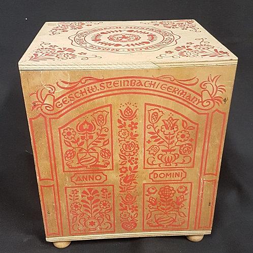 German Steinback Music- Box (Original Wood Box)