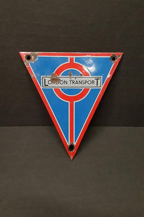 London Transport Porcelain Sign
