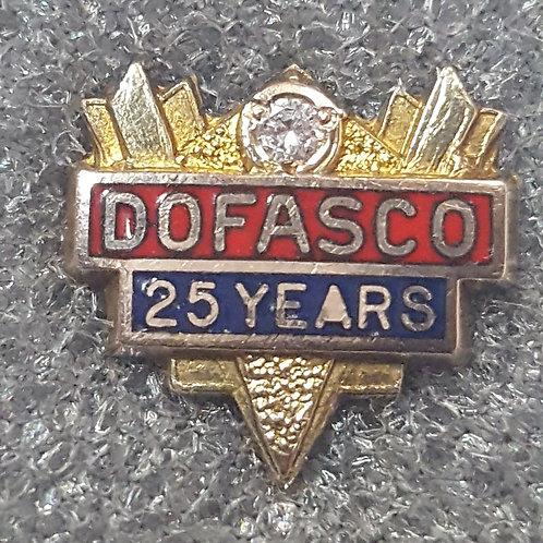 Dofasco 25 Year Service Pin